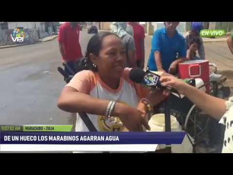 Venezuela - De un hueco los marabinos agarran agua- VPItv