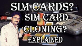 SIM Cards? | Sim Card Cloning? Explained in Hindi/Urdu