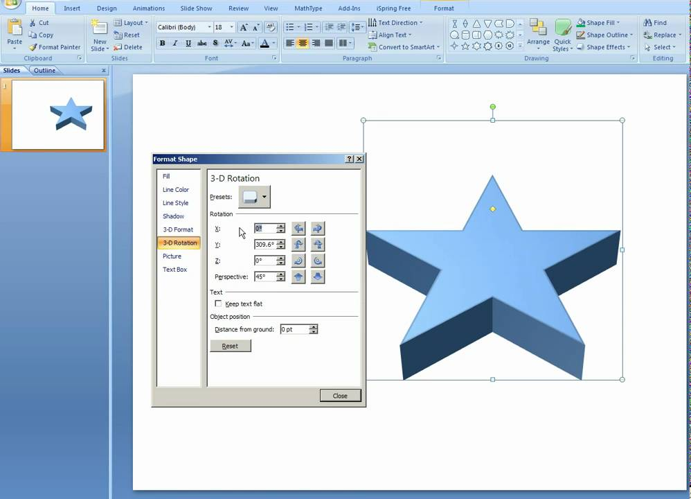 how to create 3d objects in powerpoint youtube