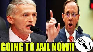 FINALLY!! Rosenstein Just GETS LIFE-ENDING NEWS!! Trey Gowdy Just DID THIS! WOOHOO!!