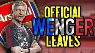 BREAKING Arsene Wenger LEAVES Arsenal FDReacts