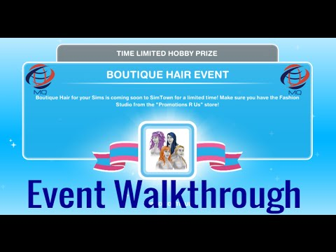 New Hairstyle Quest Sims Freeplay : The sims freeplay boutique hair event walkthrough with hermione