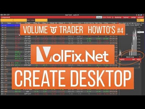 VolFix - DESKTOP ERSTELLEN - Volume-Trader HowTo #4
