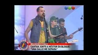 Los Ramonestones con Néstor en Bloque -