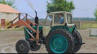 Мультфильм про трактор ЮМЗ-6 #Автошка