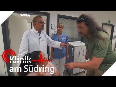 Schmerzen in der Brust - Mann verbietet Behandlung   Klinik am Südring   SAT.1 TV