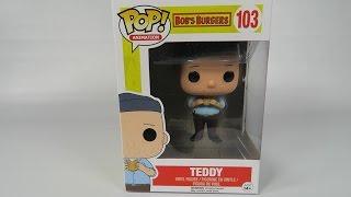 Funko Pop Vinyl  Bob's Burgers Teddy Unboxing