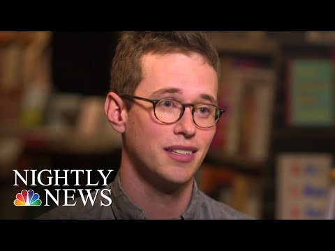 Michigan Bookstore Collects Meaningful Messages With A Typewriter | NBC Nightly News