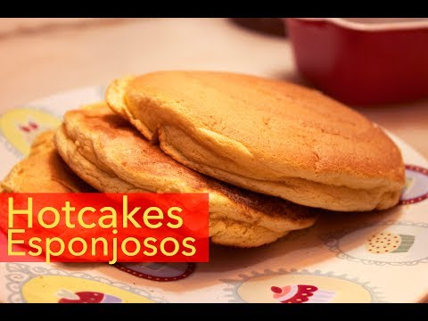PANCAKES SUPER ESPONJOSOS / fluffy hotcakes