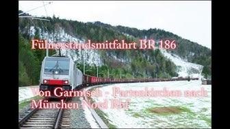 4k Führerstandsmitfahrt Garmisch-Partenkirchen - Starnberg - München Nord
