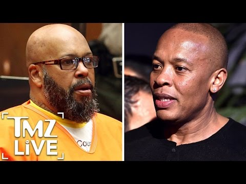 DR. DRE Fires Back at SUGE KNIGHT | TMZ Live