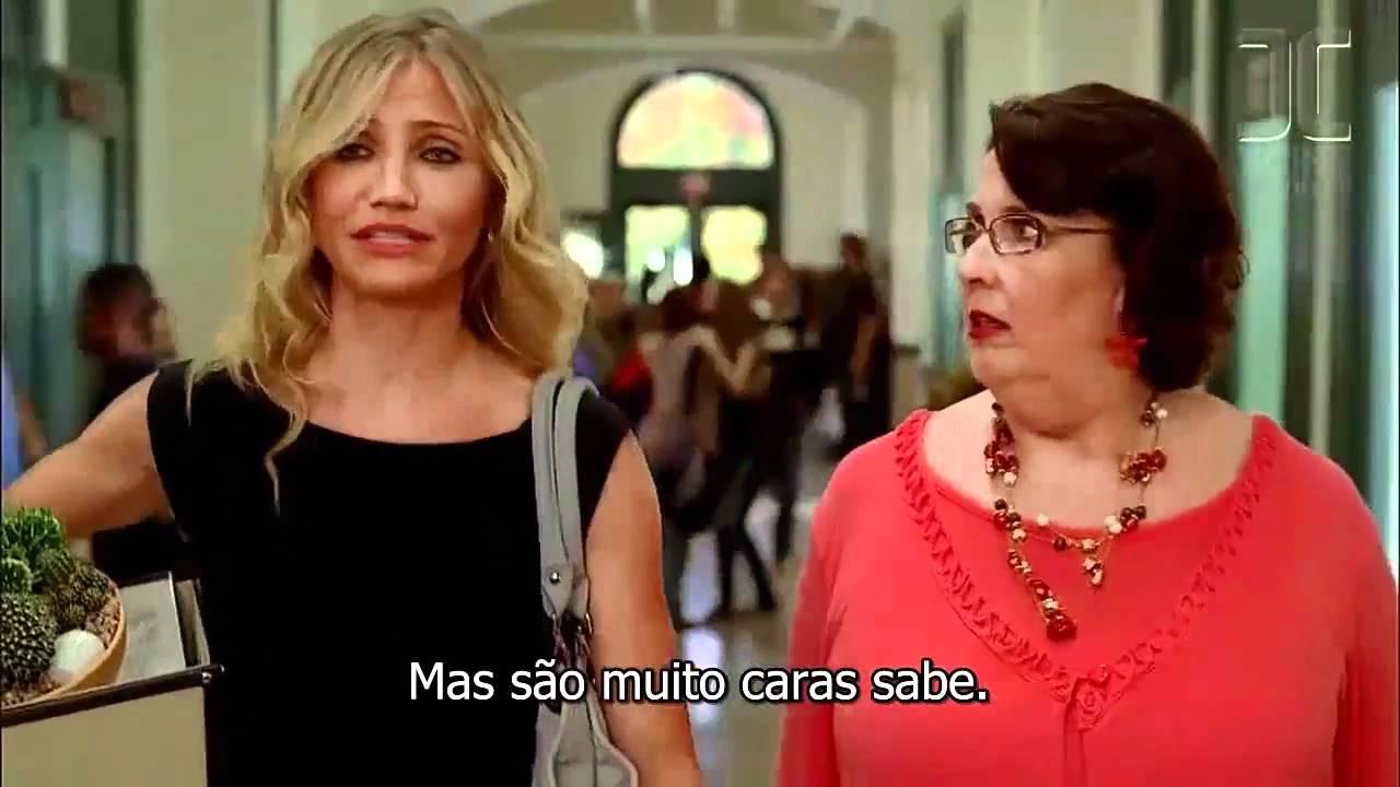 Professora Baldas Bad Teacher Trailer Português Portugal Youtube