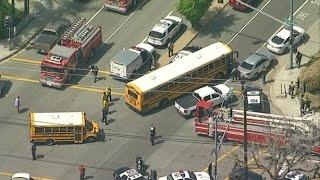 BREAKING! San Bernardino elementary school shooting: Multiple injuries reported