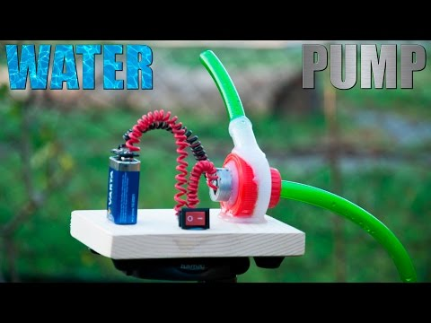 Thumbnail: How to Make a Water Pump [Water Turbine]