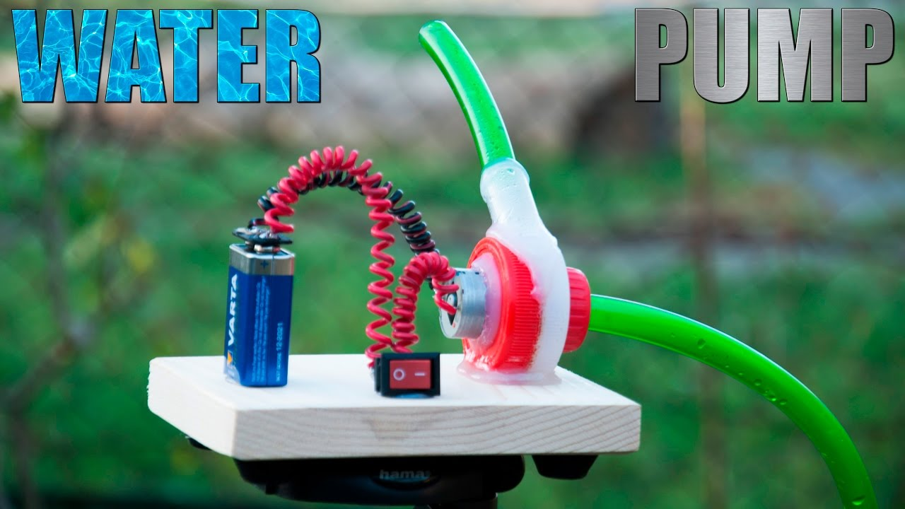 How to Make a Water Pump [Water Turbine] - YouTube