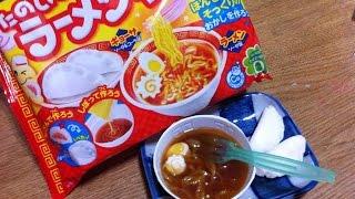 日本食玩 kracie popin cookin ramen and dumplings 拉麵和餃子