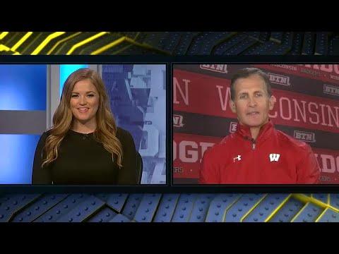 2017 Big Ten Hockey Week: Wisconsin Head Coach Tony Granato
