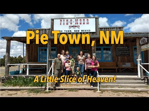 Pie Town, NM - A Little Slice of Heaven: Family of 10, Full-time RVers
