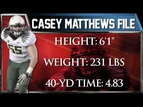 Will Casey Matthews be as successful as his brother, Clay?