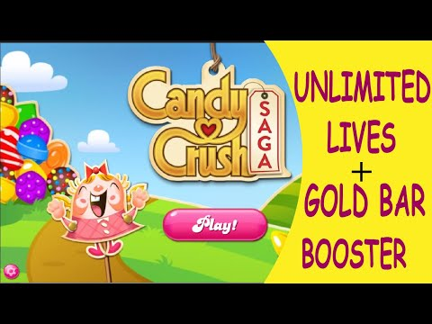 Candy Crush Saga (Unlimited Boosters Unlimited Gold Bars) Candy Crush Hack Candy Crush Friend (2020)