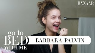 Barbara Palvin's Nighttime Skincare Routine | Go To Bed With Me | Harper's BAZAAR
