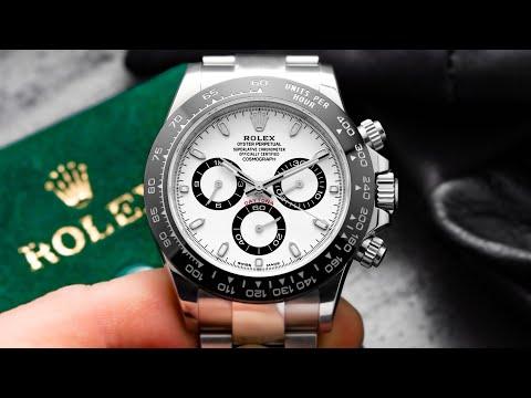 Rolex Daytona 116500LN Ceramic In 4K Watch Review | Swiss Watch Gang