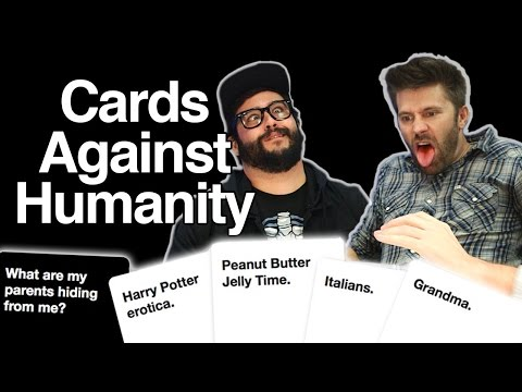 The Dark Cards Against Humanity! poster
