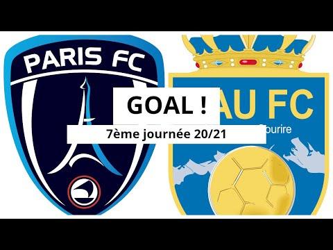 Paris FC Pau Goals And Highlights