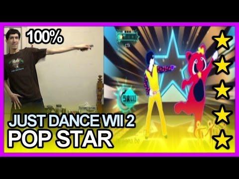Just Dance Wii 2 (Japan) - POP STAR 5 Stars FC