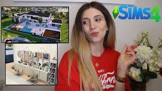 sims'te yaptığım evleri gösteriyorum ♡ (siz nasıl yaparsınız? like a pro)