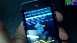 FLY IQ238 Как снять графический ключ HARD RESET(Как снять графический ключ, удалить вирус, разблокировать, восстановить стандартные заводские настройки..., 2014-04-07T16:48:40.000Z)