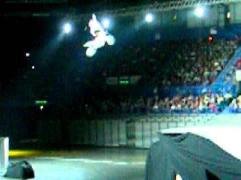 Motorcycle stunt riders at BEN 10 Monster Trucks - NIA