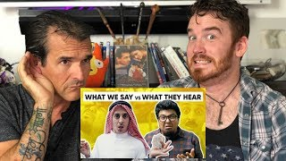 JORDINDIAN | WHAT WE SAY VS WHAT THEY HEAR | REACTION!