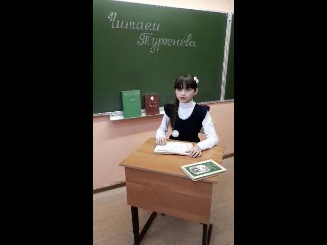 Изображение предпросмотра прочтения – АнастасияНазина читает произведение «Сказка о жёлтой лягушке» И.С.Тургенева
