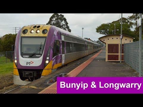 V/Line Trains At Bunyip And Longwarry (Gippsland Line)