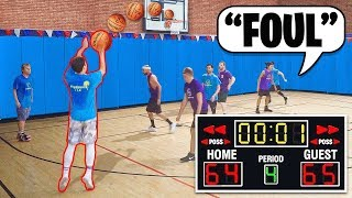 THE WORST REFS EVER! MUST WIN - BASKETBALL GAME #4
