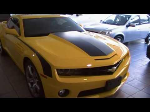 Camaro Amarillo Franjas Negras Youtube