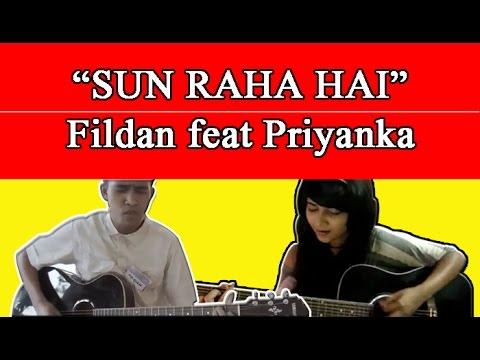 HEBOH!!! duet Fildan Bau Bau dengan orang india-sun raha hai