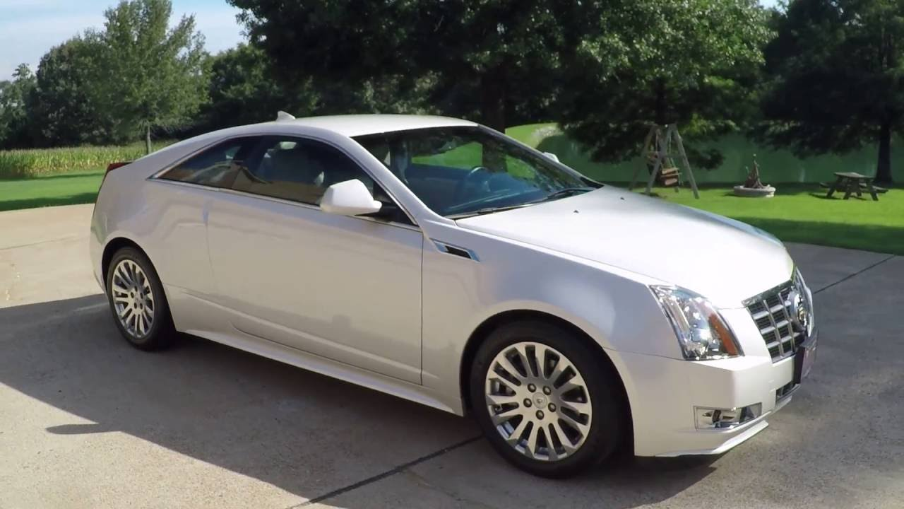 HD VIDEO 2012 CADILAC CTS PERFORMANCE PKG PEARL WHITE FOR SALE INFO
