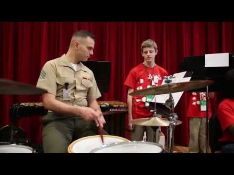 Marine Corps Band New Orleans Hosts Music Workshop for Area Students