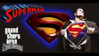 Скачать HOW TO INSTALL SUPERMAN MOD IN GTA SAN ANDREAS
