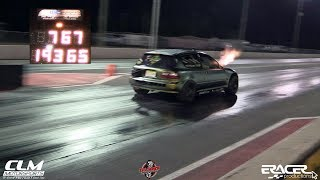 "AWD Civic 7.67 @ 193mph ""Section 8"" CLM Motorsports 