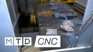 New VMC still in the wrapping from Victor CNC