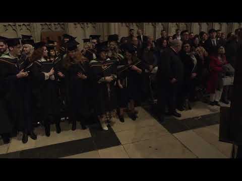 Ceremony 6 - York St John Graduation 2019