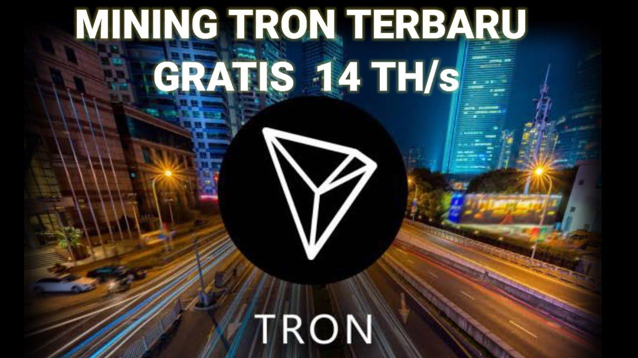 MINING TRON TERBARU, DAFTAR DAPAT 50 TRON - CARA REGISTRASI & AKTIVASI 14 TH/s
