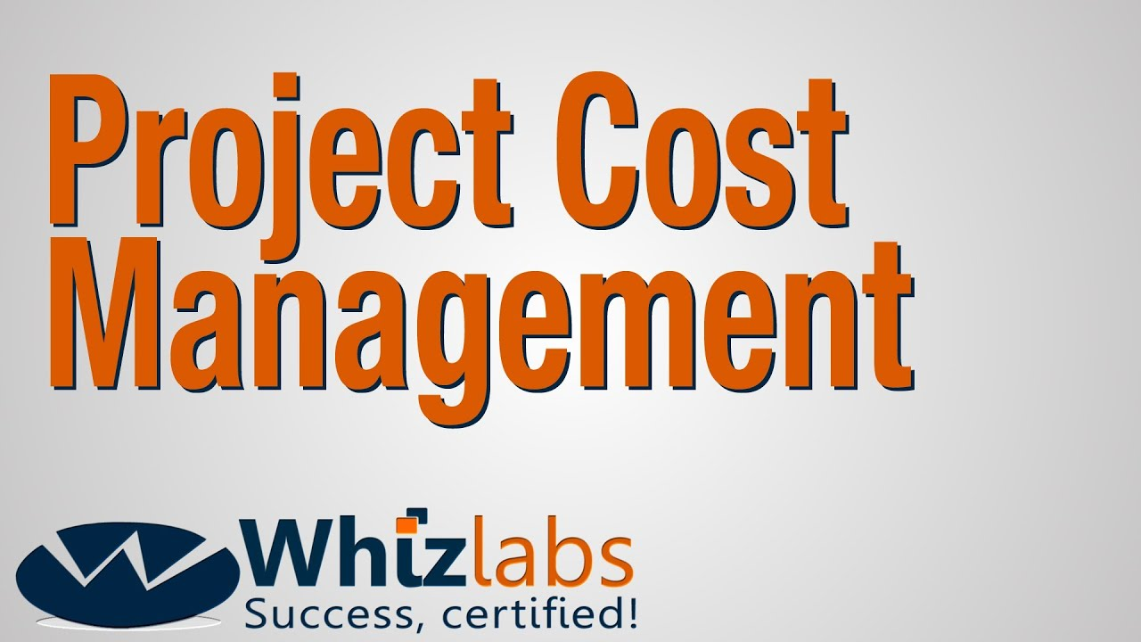 Project cost management pmp certification youtube xflitez Gallery