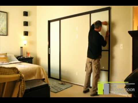 The Sliding Door Company  Double Wall Slide Installation