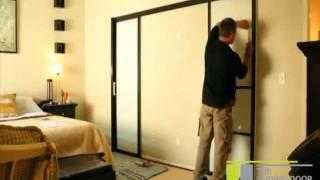 The Sliding Door Company | Double Wall Slide Installation