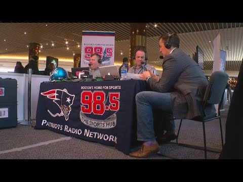 The Super Bowl's Radio Row Is Out In The Open At MOA