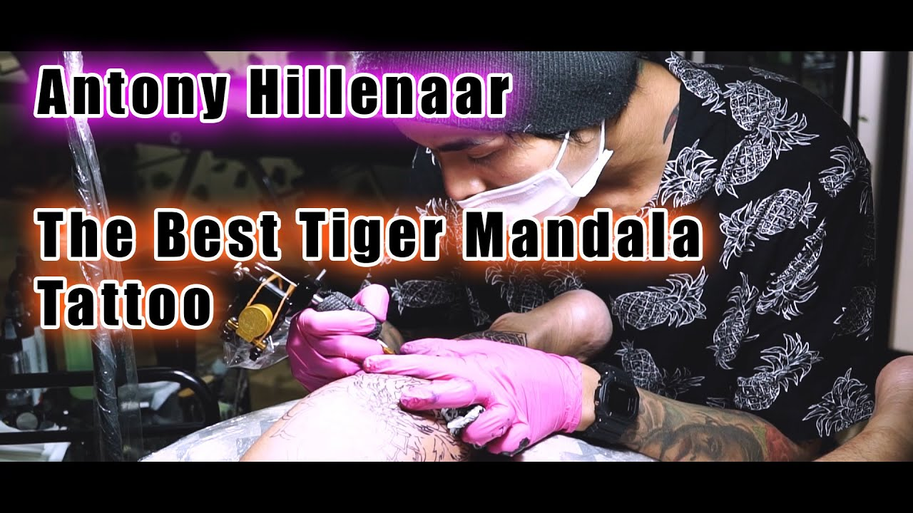 TattVlog : Antony Hillenaar punya tattoo Tiger Terbaik ! Dan Review Power Supply CyberSpeed